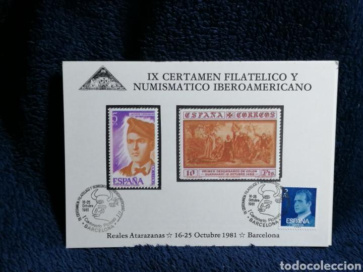 Sellos: España. Lote sellos sobres Exposiciones filatelicas Barcelona - Foto 6 - 229226970