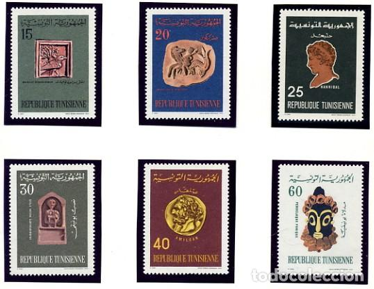REPUBLIQUE TUNISIENNE - TUNEZ - TEMATICA HISTORIA - SERIE COMPLETA NUEVA - 6 VALORES (Sellos - Temáticas - Historia)