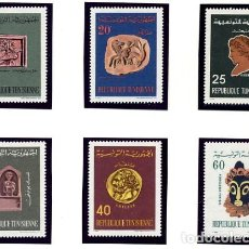 Sellos: REPUBLIQUE TUNISIENNE - TUNEZ - TEMATICA HISTORIA - SERIE COMPLETA NUEVA - 6 VALORES. Lote 231141955