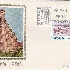 Sellos: EDIFIL 2295, HISPANIDAD 1975, URUGUAY, FUERTE DE SANTA TERESA PRIMER DIA 12-10-1975 MUNDO FILATELICO. Lote 231352430