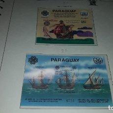 Sellos: PARAGUA. ANIVERSARIOS 1983 - 1. EN HOJA FILABO. SIN CIRCULAR.. Lote 235543995