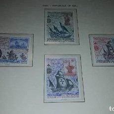 Sellos: REPUBLICA DE MALI. ANIVERSARIOS 1981 - 1. EN HOJA FILABO. SIN CIRCULAR.. Lote 235549865