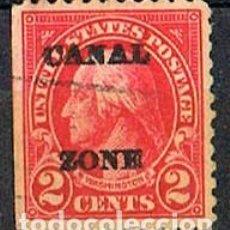 Sellos: ZONA DEL CANAL DE PANAMA Nº 57 A(AÑO 1.924), WASHINGTON, USADO. Lote 237717220