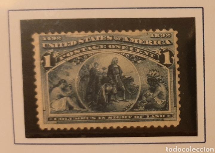 USA 1893. 1C. MNH*. DESCUBRIMIENTO AMÉRICA (Sellos - Temáticas - Historia)