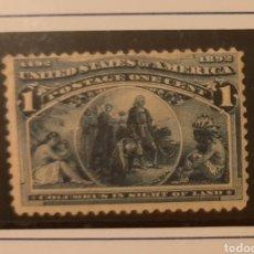 Sellos: USA 1893. 1C. MNH*. DESCUBRIMIENTO AMÉRICA. Lote 239491480
