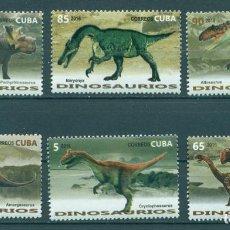 Sellos: CUBA 2016 DINOSAURS MNH - DINOSAURS. Lote 241338290