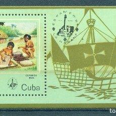 "Sellos: 🚩 CUBA 1985 INTERNATIONAL STAMP EXHIBITION ""ESPAMER '85"" - HAVANA, CUBA MNH - SHIPS, ANCIE. Lote 241339365"