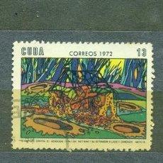 Sellos: CUBA 1972 THE 3RD SYMPOSIUM ON THE INDO-CHINA WAR U - WARS, JOSE MARTI. Lote 241340855