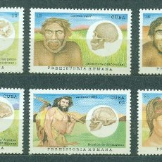 Sellos: CUBA 1997 PREHISTORIC MAN MNH - ANCIENT PEOPLE. Lote 241346525