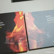 Sellos: BAILES Y DANZAS POPULARES DE ESPAÑA. CORREOS, 2009. 160 PP. LIBRO CON LOS SELLOS.. Lote 242839415
