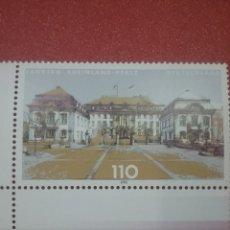 Sellos: SELLO ALEMANIA R FEDERAL NUEVO/2000/PARLAMENTOS/LANDERS/ARQUITECTURA/ARTE/EDIFICIOS/GUBERNAMENTAL. Lote 244451755