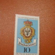 Sellos: SELLO ALEMANIA R. FEDERAL NUEVO/1975/DIA/SELLO/ESCUDO/CORREOS/PRUSIA/AGUILA/ANIMAL/HERALDICO/CORONA/. Lote 245576390