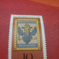 Sellos: SELLO ALEMANIA R. FEDERAL NUEVO/1976/ESCUDO/POSTAL/IMPERIAL/ANIMALES/HERALDICOS/DIA/SELLO/AGUILA/AVE. Lote 246088190