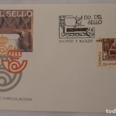 Sellos: MATASELLOS PRIMER DÍA. ESPAÑA 1994. DÍA DEL SELLOS, BUZÓN ANTIGUO.. Lote 246185690