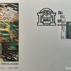 Sellos: MATASELLOS PRIMER DÍA. ESPAÑA 1997. DÍA DEL SELLO. BUZONES. Lote 249238390