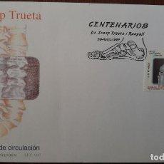 Sellos: MATASELLOS PRIMER DÍA. ESPAÑA 1997. DR. JOSEP TRUEBA. Lote 249238680