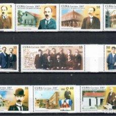Sellos: ⚡ DISCOUNT CUBA 2007 JOSE MARTI COMMEMORATION NG - JOSE MARTI. Lote 253850450