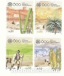 PORTUGAL ** 600 AÑOS DEL DESCUBRIMIENTO DE PORTO SANTO, COSTUMBRES Y TRAJES LOCALES 2018 (7774 (Sellos - Temáticas - Historia)