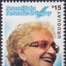 Sellos: ⚡ DISCOUNT URUGUAY 2015 OUTSTANDING PERSONALITIES OF URUGUAY - PROF. IDA HOLZ MNH - FAMOUS W. Lote 260586140