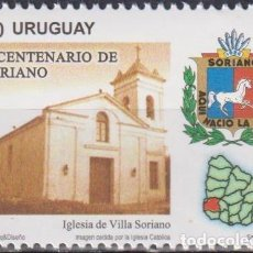 Sellos: ⚡ DISCOUNT URUGUAY 2016 THE 200TH ANNIVERSARY OF THE DEPARTMENT OF SORIANO MNH - ARCHITECTUR. Lote 260586580