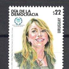 Sellos: ⚡ DISCOUNT URUGUAY 2019 DEMOCRACY DAY - SENATOR MARTHA MONTANER MNH - FAMOUS WOMEN, POLITICI. Lote 260587440