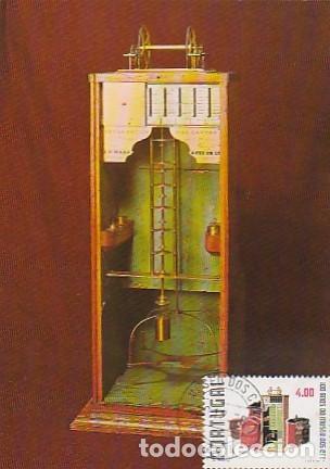 PORTUGAL & MAXI, 100 AÑOS DEL MUSEO CTT, BÁSCULA DE PESAJE, LISBOA 1978 (6686) (Sellos - Temáticas - Historia)