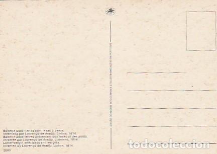 Sellos: Portugal & Maxi, 100 Años del Museo CTT, Báscula de Pesaje, Lisboa 1978 (6686) - Foto 2 - 262782635