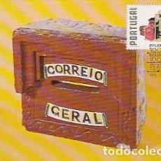 Sellos: PORTUGAL & MAXI, 100 AÑOS DEL MUSEO CTT, CAJA DE PIEDRA DEL CORREO GENERAL, LISBOA 1978 (4674). Lote 262785355