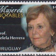 Sellos: ⚡ DISCOUNT URUGUAY 2015 BELELA HERRERA MNH - FAMOUS WOMEN, POLITICIANS. Lote 262874315