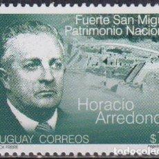 Sellos: ⚡ DISCOUNT URUGUAY 2002 THE 35TH ANNIVERSARY OF THE DEATH OF HORACIO ARREDONDO MNH - HISTORI. Lote 265522084