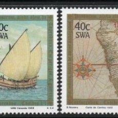 Sellos: AFRICA DEL SUDOESTE - SWA 1988 IVERT 574/7 *** 500º ANIVERSARIO DESCUBRIMIENTO CABO NUEVA ESPERANZA. Lote 266922219