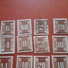 Sellos: SELLO HUNGRÍA (MAGYAR P) MTDO/1951/CORREOS/NUMEROS/SERIE/BASICA/. Lote 269073978