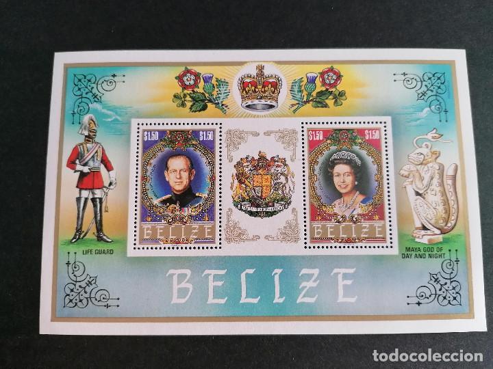 Sellos: Belize Familia Real Inglesa Hb en Nuevo Perfecto *** - Foto 2 - 269392183
