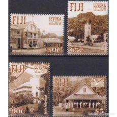 Sellos: ⚡ DISCOUNT FIJI 2015 UNESCO WORLD HERITAGE SITES - LEVUKA MNH - ARCHITECTURE, UNESCO. Lote 270388208