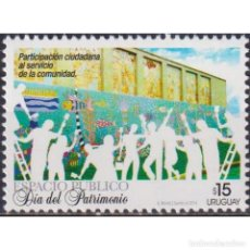 Sellos: ⚡ DISCOUNT URUGUAY 2014 HERITAGE DAY MNH - HOLIDAYS. Lote 270391763