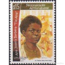 Sellos: ⚡ DISCOUNT URUGUAY 2014 AFRO-URUGUAYAN PERSONALITIES - JOSEFA BARBERA MNH - FAMOUS WOMEN. Lote 270391808