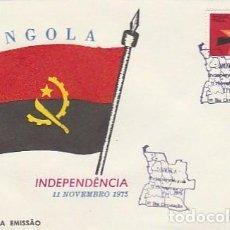 Sellos: ANGOLA & FDC 11 DE NOVIEMBRE DE 1975, DÍA DE LA INDEPENDENCIA (87686). Lote 271070478