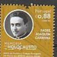 Sellos: PORTUGAL ** & MEMORIA DEL HOLOCAUSTO, PADRE JOAQUIM CARREIRA 2021 (77762). Lote 271355863