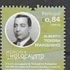 Sellos: PORTUGAL ** & MEMORIA DEL HOLOCAUSTO, ALBERTO TEIXEIRA BRANQUINHO 2021 (77763). Lote 271356433