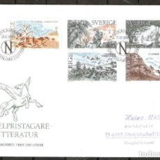 Sellos: SUECIA. 1985. SPD/FDC. LITERATURA PREMIO NOBEL. Lote 274330988