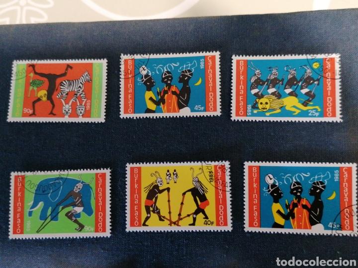 Sellos: Història Burkina Faso Lote Sellos serie año 1985 usado - Foto 2 - 275722273