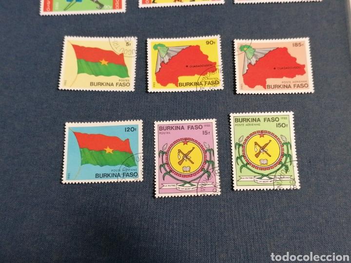 Sellos: Història Burkina Faso Lote Sellos serie año 1985 usado - Foto 3 - 275722273