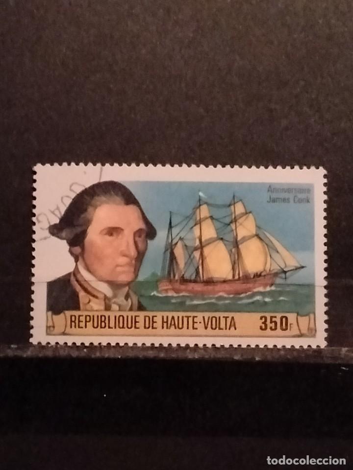 SELLOS DE HAUTE VOLTA- PERSONAJES - BUL (Sellos - Temáticas - Historia)