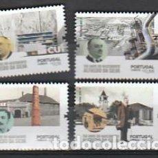 Sellos: PORTUGAL ** & 150 AÑOS DEL NACIMIENTO DE ALFREDO DA SILVA, CUF INDUSTRIAL 2021 (19948). Lote 277133023