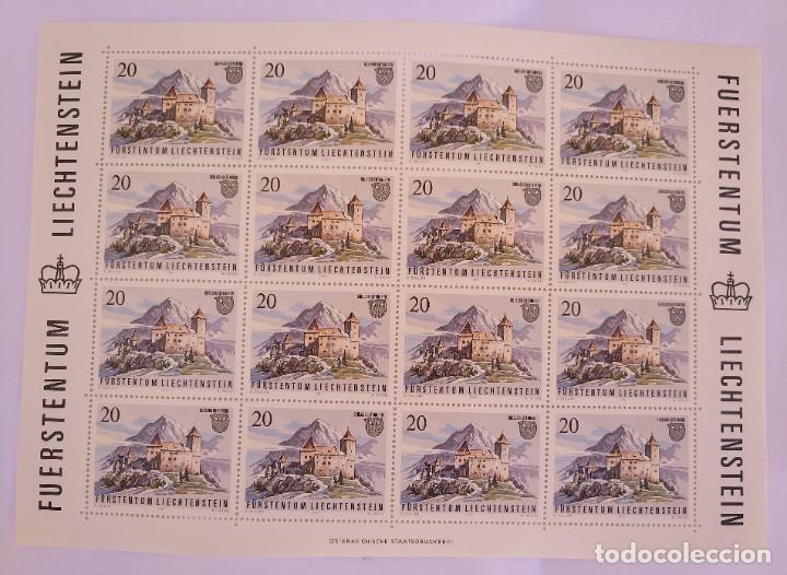 Sellos: Liechtenstein 1981. Yvert 721/24 - Foto 2 - 278576553