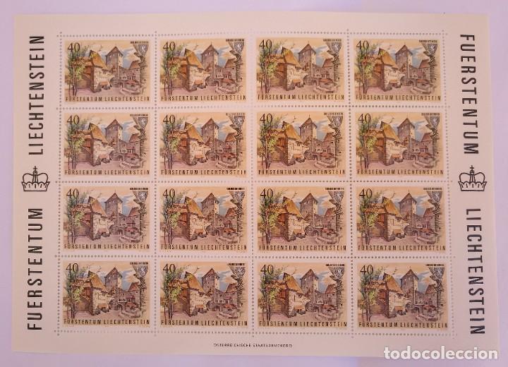 Sellos: Liechtenstein 1981. Yvert 721/24 - Foto 3 - 278576553