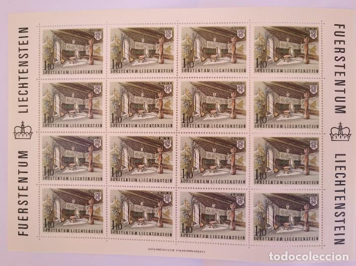 Sellos: Liechtenstein 1981. Yvert 721/24 - Foto 5 - 278576553