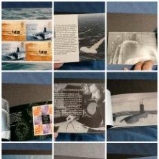 Sellos: SUBMARINOS SELLOS INGLATERRA CARNET AÑO 2001 NUEVO *** SUBMARINOS SEGUNDO GUERRA MUNDIAL 12 FOTOS. Lote 278766628