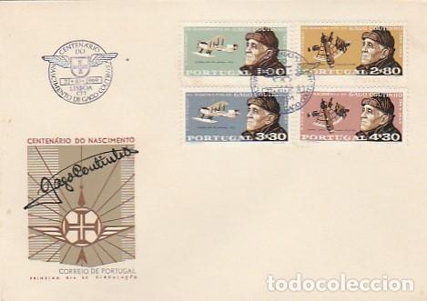PORTUGAL & CENTENARIO DEL PRIMER CRUCE AÉREO DEL ATLÁNTICO NORTE, GAGO COUTINHO, LISBOA 1969 (1055) (Sellos - Temáticas - Historia)