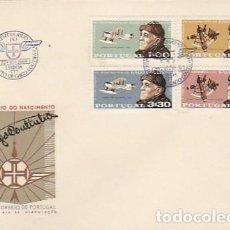 Sellos: PORTUGAL & CENTENARIO DEL PRIMER CRUCE AÉREO DEL ATLÁNTICO NORTE, GAGO COUTINHO, LISBOA 1969 (1055). Lote 278931163